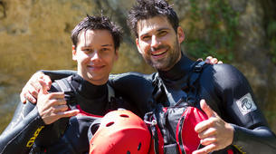 Canyoning-Split-Family friendly canyon in Cetina River in Split, Croatia-2