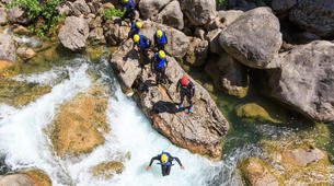 Canyoning-Split-Family friendly canyon in Cetina River in Split, Croatia-3