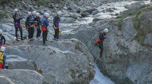 Canyoning-Alagna Valsesia-Canyon Nonaj near Alagna Valsesia-1
