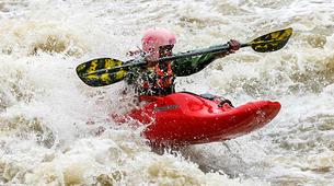 Canoë-kayak-Alagna Valsesia-Private kayaking lessons down Sesia River near Alagna Valsesia-3