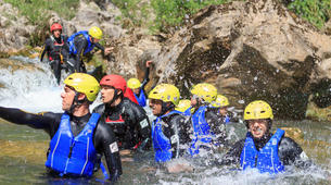 Canyoning-Split-Family friendly canyon in Cetina River in Split, Croatia-1
