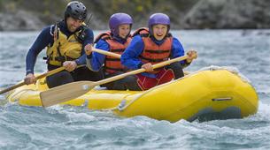 Rafting-Hanmer Springs-Canoe Raft down Waiau River in Hanmer Springs, New Zealand-4
