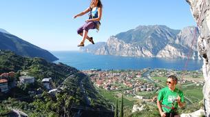 Escalade-Arco-Climbing Taster for novices in Arco, Lake Garda-6