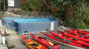 Kayaking-Rotorua-Kayaking on Lake Rotoiti to the hot pools in Rotorua-6