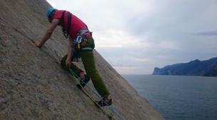 Escalade-Arco-Multi-pitch climbing course in Arco, Lake Garda-4