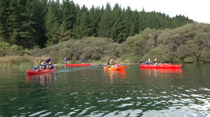 Kayaking-Rotorua-Kayaking on Lake Rotoiti to the hot pools in Rotorua-2