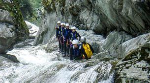 Canyoning-Alagna Valsesia-Canyon Nonaj near Alagna Valsesia-5