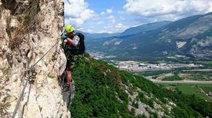Via Ferrata-Arco-Via Ferrata Monte Albano near Arco, Lake Garda-2