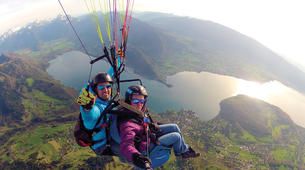Paragliding-Annecy-Tandem paragliding flight above Lake Annecy-4