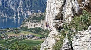 Rock climbing-Arco-Guided multi-pitch climbing near Arco, Lake Garda-2