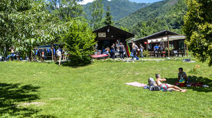Canoë-kayak-Alagna Valsesia-Private kayaking lessons down Sesia River near Alagna Valsesia-4