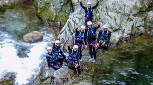 Canyoning-Alagna Valsesia-Canyon Artogna near Alagna Valsesia-3