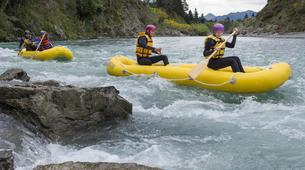 Rafting-Hanmer Springs-Canoe Raft down Waiau River in Hanmer Springs, New Zealand-1