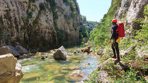 Canyoning-Split-Extreme canyon in Cetina River in Split, Croatia-3