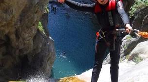 Canyoning-Arco-Canyon River Palvico near Arco, Lake Garda-4