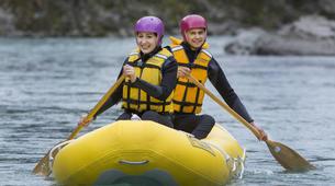 Rafting-Hanmer Springs-Canoe Raft down Waiau River in Hanmer Springs, New Zealand-3