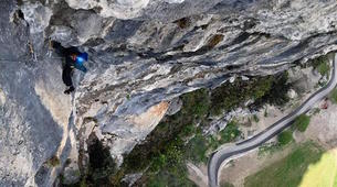 Rock climbing-Arco-Guided multi-pitch climbing near Arco, Lake Garda-1