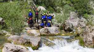 Canyoning-Split-Extreme canyon in Cetina River in Split, Croatia-1