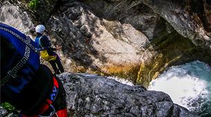 Canyoning-Alagna Valsesia-Canyon Sorba near Alagna Valsesia-3