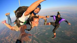 Skydiving-Athens-Tandem skydive in Kastro near Athens-2