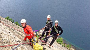 Rock climbing-Arco-Guided multi-pitch climbing near Arco, Lake Garda-5