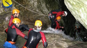 Canyoning-Arco-Canyon River Palvico near Arco, Lake Garda-6