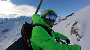 Backcountry Skiing-Tignes, Espace Killy-Backcountry skiing in Tignes, Espace Killy-4