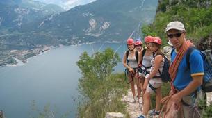 Via Ferrata-Arco-Via Ferrata Sentiero Contrabbandieri près d'Arco, Lac de Garde-4