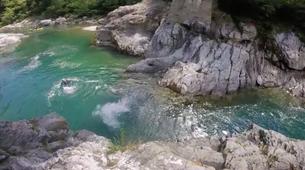 Canyoning-Alagna Valsesia-Canyon Sesia Gorges near Alagna Valsesia-1