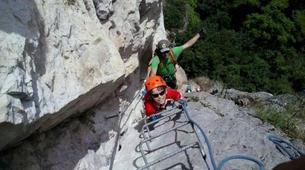 Via Ferrata-Arco-Via Ferrata Monte Albano near Arco, Lake Garda-4