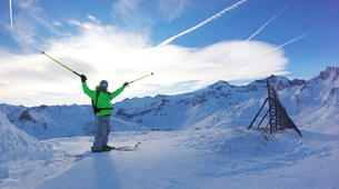 Backcountry Skiing-Tignes, Espace Killy-Backcountry skiing in Tignes, Espace Killy-1