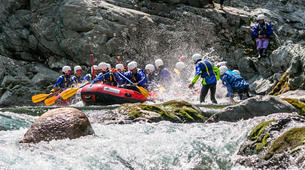 Rafting-Alagna Valsesia-Rafting down the Sesia River near Alagna Valsesia-2
