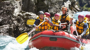 Rafting-Hanmer Springs-Rafting down the Waiau River in Hanmer Springs, New Zealand-1