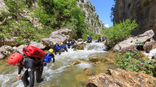 Canyoning-Split-Family friendly canyon in Cetina River in Split, Croatia-5