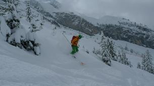 Ski Hors-piste-La Clusaz, Massif des Aravis-Initiation Ski Hors-piste à La Clusaz-6