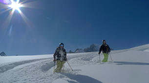 Backcountry Skiing-Chamonix Mont-Blanc-Chamonix Vallee Blanche downhill skiing-5