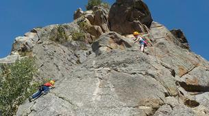 Rock climbing-Pyrénées Orientales-Cliff rock-climbing in Eastern Pyrenees-4