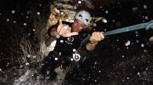 Canyoning-Le Morne-Vert-Mitan River canyon in Martinique-1