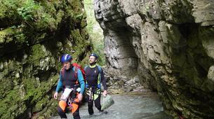Canyoning-Castelnuovo di Garfagnana-Canyon de l'Orrido di Botri à Castelnuovo di Garfagnana, Toscane-1