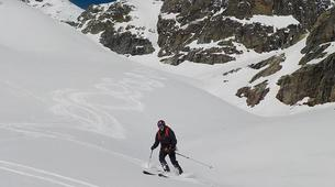 Backcountry Skiing-Valmorel, Le Grand Domaine-Backcountry skiing day trip in Tarentaise Valley-1