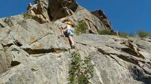 Rock climbing-Pyrénées Orientales-Cliff rock-climbing in Eastern Pyrenees-1