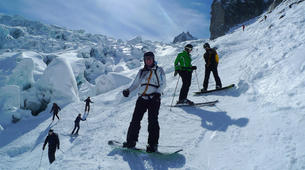 Backcountry Skiing-Chamonix Mont-Blanc-Chamonix Vallee Blanche downhill skiing-3