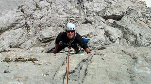 Escalade-Ponte di Legno-Guided rock climbing in Ponte di Legno in the Italian Alps-5