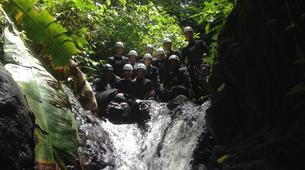 Canyoning-Le Morne-Vert-Mitan River canyon in Martinique-2