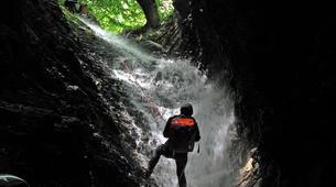 Canyoning-Castelnuovo di Garfagnana-Canyon de l'Orrido di Botri à Castelnuovo di Garfagnana, Toscane-3