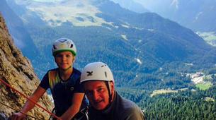 Escalade-Ponte di Legno-Guided rock climbing in Ponte di Legno in the Italian Alps-4