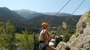 Rock climbing-Pyrénées Orientales-Cliff rock-climbing in Eastern Pyrenees-2