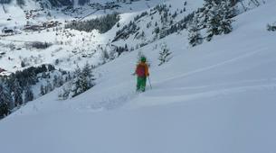 Ski Hors-piste-La Clusaz, Massif des Aravis-Initiation Ski Hors-piste à La Clusaz-5