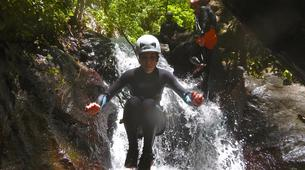 Canyoning-Le Morne-Vert-Mitan River canyon in Martinique-5
