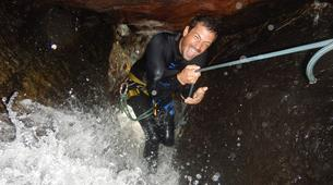 Canyoning-Le Morne-Vert-Mitan River canyon in Martinique-4